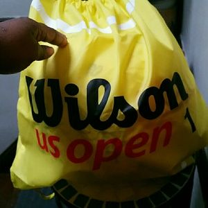 Wilson's cinch backpack - unisex